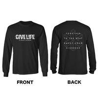 "Give Life ""Glitch Logo"" Tee"