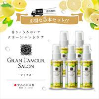【送料無料5本セット】クリーンハンドジェル シトラスの香り 55ml