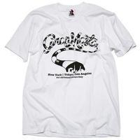 GranMasta OldSchool ロゴT-シャツ(White)