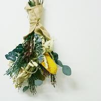 【定番人気】珍しい花のスワッグ、ダイナミックでナチュラルな壁飾り、インテリア 壁やドアに掛けるだけでおしゃれに!セミオーダー、DIY可能!