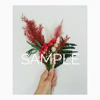 セミオーダー!おしゃれでコンパクトなミニ花束!3,800円【税込・送料込】出来上がりイメージを選んだあとはお任せ!