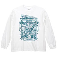 ANARCHY IN DA HOUSE / LONG SLEEVE TEE / WHITE