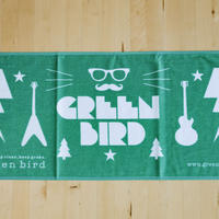 greenbird オリジナルフェイスタオル(green)