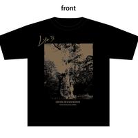 屋久島 縄文杉Tシャツ LIFE IS(black)Classic ver.