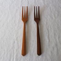 木のカトラリー・フォーク / 難波行秀