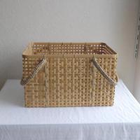 竹の買い物かごL /     タケカンムリ  (予約)