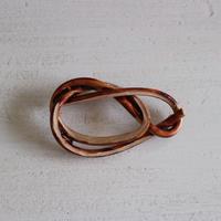 籐ブローチL / イタシオリ