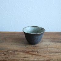 黒耀釉煎茶碗 /  中西申幸