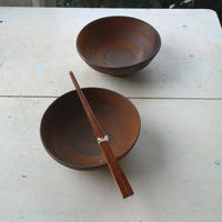 焼締め小鉢 / 境知子