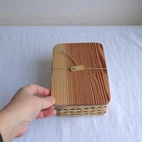 竹のお弁当箱Mサイズ /     タケカンムリ