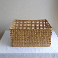 竹の洗いかごL /     タケカンムリ (予約・数量限定)