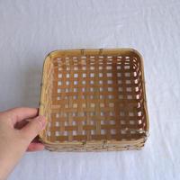 竹のミニかごM /     タケカンムリ  (予約)