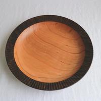 リム皿(鉄媒染・オイル) / 湯浅ロベルト淳