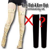 Selectable knee high socks! Set sales<拘束/Restriction>