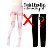 Set sales★<ピンキードール/Pinkie Dole>Selectable knee high socks & Tights!