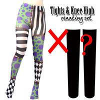 Set sales★<紫泉/SiSeN> Selectable knee high socks & Tights!