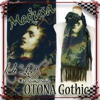 MDA-OG.002 OTONA Gothic Knit Scarf<メデューサ/Medusa>