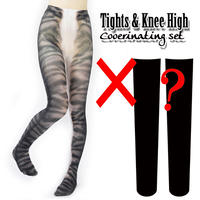 Set sales★<キジトラ/Tabby cat>Selectable knee high socks & Tights!