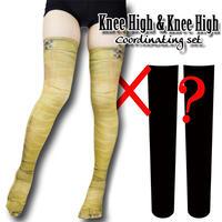 Selectable knee high socks! Set sales<ファラオ包帯/Pharaoh bandage>