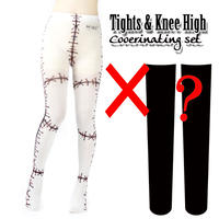 Set sales★<縫い傷/sewing wound>Selectable knee high socks & Tights!