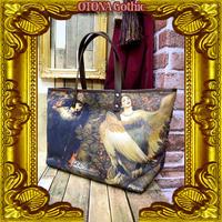 OGB-02.0002 【危機裸裸商店kiki監修】OTONA Gothic project Designed Bag<怪鳥シリン/Sirin>