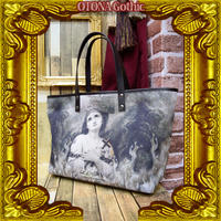 OGB-02.0004 【危機裸裸商店kiki監修】OTONA Gothic project Designed Bag<火刑のジャンヌダルク/Joan of Arc at the stake>