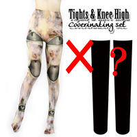 Set sales★<ヴァイオハザード/Biohazard>Selectable knee high socks & Tights!