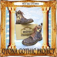 kki-OT.0002  OTONA Gothic project Printed Boots<シリン/Sirin>