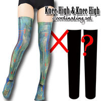 Selectable knee high socks! Set sales<メルティ―スライム/Melty slime>