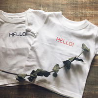 RED HELLO! kids T