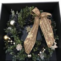クリスマスリース 箱あり