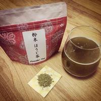 『定期便商品』送料込み! 粉末緑茶 「ほうじ茶」3つセット| 静岡茶のギフト、深蒸し茶専門店 GREEN*TEA WORKSHOP