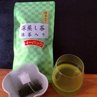 抹茶入り深蒸し茶(ティーバッグ)| 静岡茶のギフト、深蒸し茶専門店 GREEN*TEA WORKSHOP