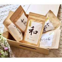 プチギフト・内祝いに!杉山貢大農園お茶ティーバッグ&リーフのギフトセット!