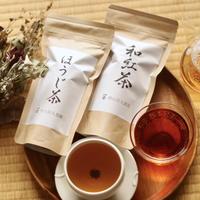 ゆっくり時間に!ほうじ茶&和紅茶のリーフセット