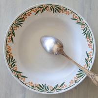 HBCM ショワジー・クレイユモントロー ミモザ スープ皿 深皿 直径22㎝ #6〖202004-69〗