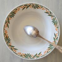 HBCM ショワジー・クレイユモントロー ミモザ スープ皿 深皿 直径22㎝ #4〖202004-67〗