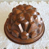 ※記録用 コッパーモールド ケーキ型 銅型 大き目の山形 口径22.9㎝