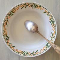HBCM ショワジー・クレイユモントロー ミモザ スープ皿 深皿 直径22㎝ #3〖202004-66〗