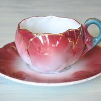 バルボティーヌ リュネビル お花のカップ&ソーサー #2〖202005-041〗