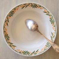 HBCM ショワジー・クレイユモントロー ミモザ スープ皿 深皿 直径22㎝ #2〖202004-65〗