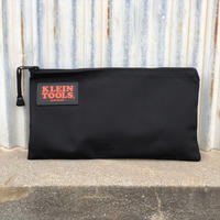 【KLEIN TOOLS】Zipper Bag - Black Nylon