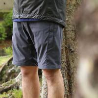 【Tilak+POUTNIK】London Shorts_EbonyGrey