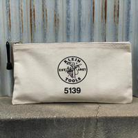 【KLEIN TOOLS】Zipper Bag - Natural