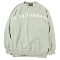 "CHARI&CO ""OFF THE BEATEN PATH CREWNECK SWEATS"" グレー"