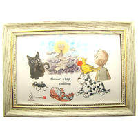 The Illustration to give to you by GRIM Works...Part1「希望~Hope~」*額縁付き有料300円