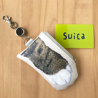 CAT PAW PASS HOLDER _leatherette_Shima