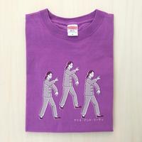 太極拳ガールTシャツ_Lavender / Gray