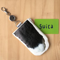 CAT PAW PASS HOLDER _Black & White