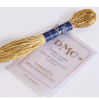 24金刺繍糸 Mouliné Metallised Gold 24 Carats [DMC]